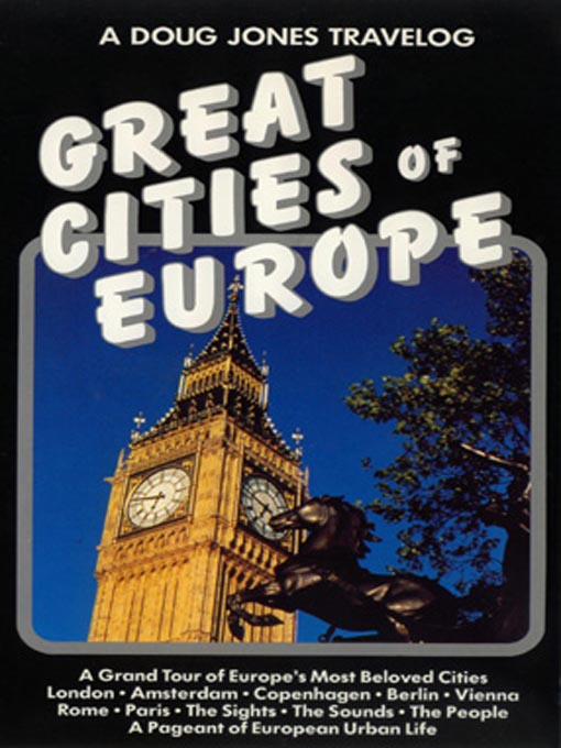 Cover image for Great Cities of Europe